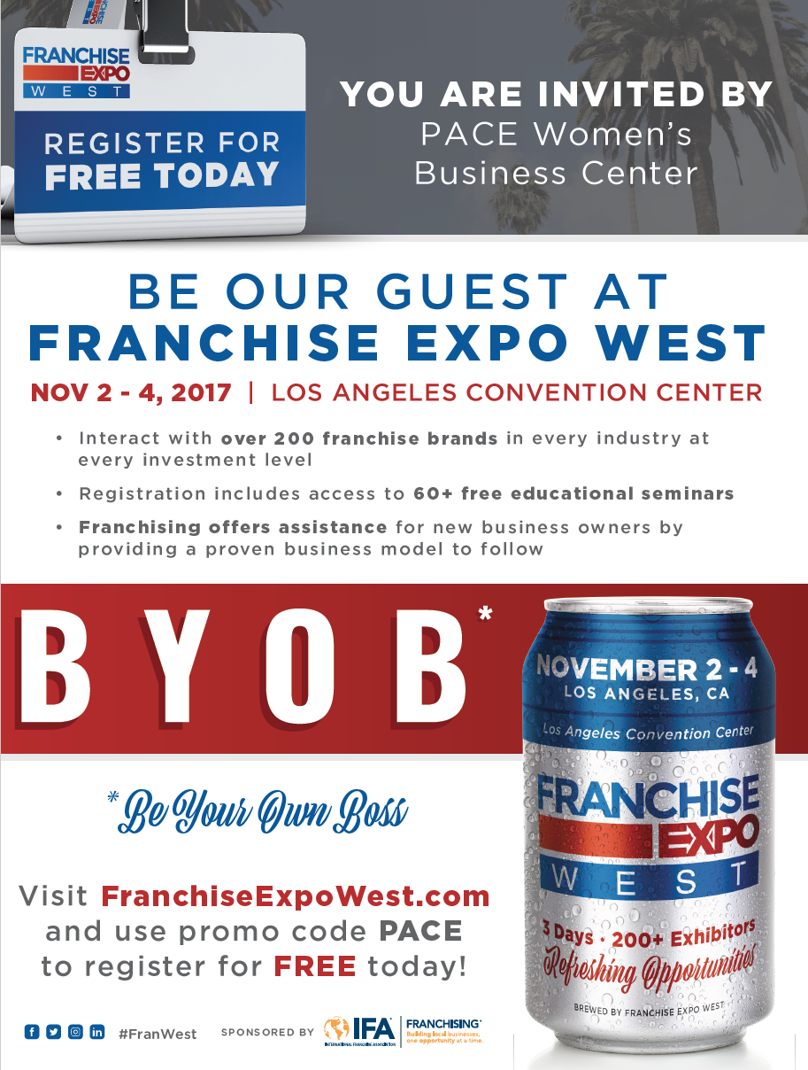 franchise expo flyer west