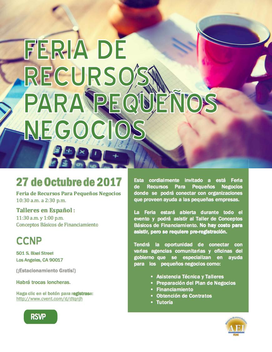 fdic small business resource fair los angeles spanish