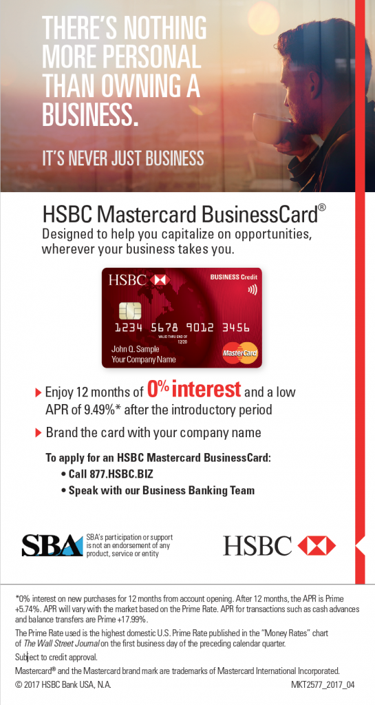 PACE Finance Corporation – HSBC Secured Credit Card Program